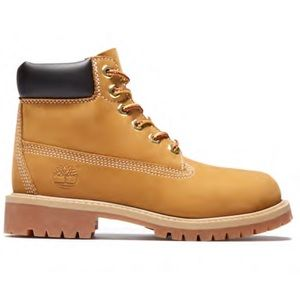 YOUTH 6-INCH PREMIUM WATERPROOF TIMBERLAND BOOTS